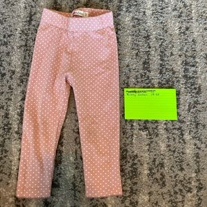 Baby Boden pink stretch pants 18/24m
